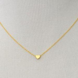 A-003 Heart necklace, Simple Neckla..