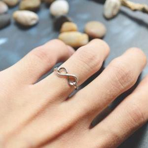 E-038 Infinity ring, Chain ring, Si..