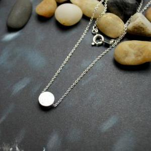 A-111 Coin necklace, Simple Necklac..