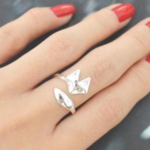 E-061 Fox ring, Adjustable ring, St..