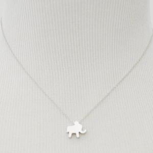 A-190 Personalized initial necklace..