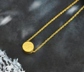 Coin necklace, Simpl..