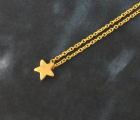 Star necklace, Simpl..