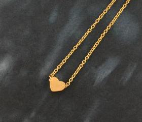 Heart necklace, Simp..