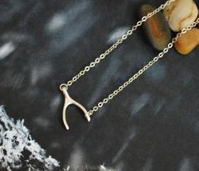 Wishbone necklace, S..